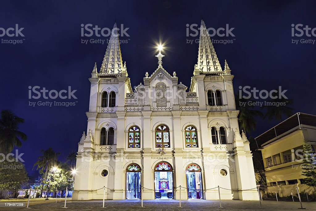 Santa Cruz Basilica royalty-free stock photo
