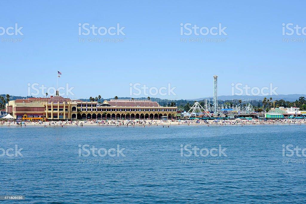 Santa Cruz Beach royalty-free stock photo
