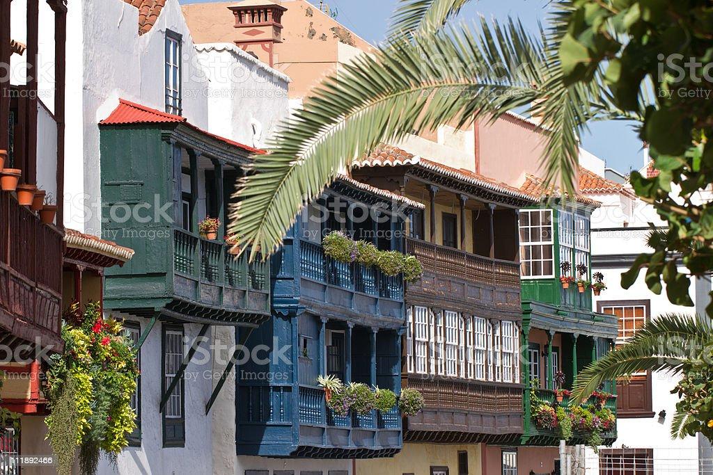 Santa Cruz de la Palma, Espanha foto de stock royalty-free