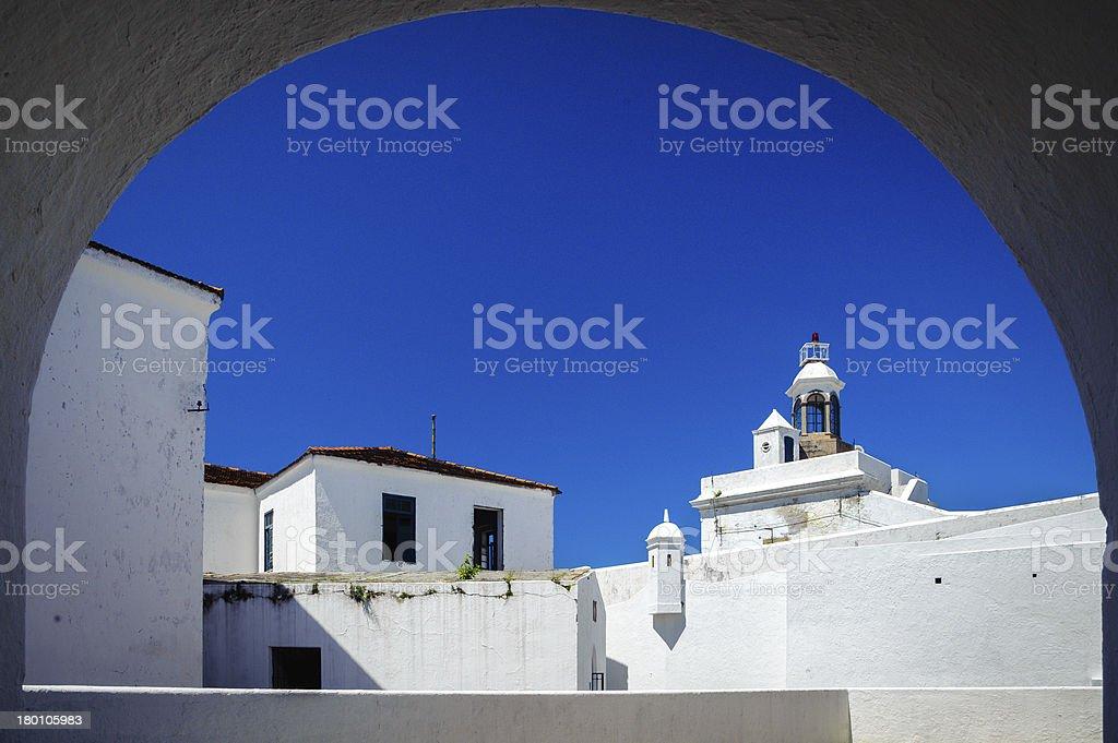 Santa Cruz Fortress royalty-free stock photo