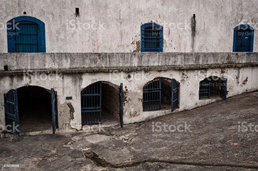 Santa Cruz Fortress stock photo