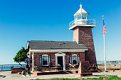 Santa Cruz Lighthouse and Surfing Museum, California