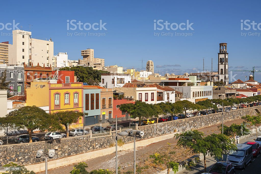 Santa Cruz. Tenerife, Canary Islands, Spain royalty-free stock photo