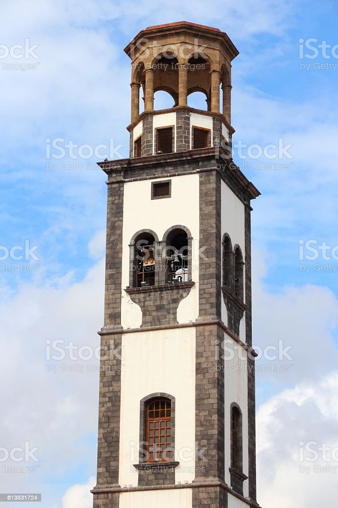 Santa Cruz, Tenerife stock photo