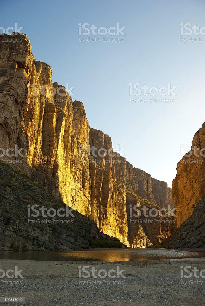 Santa Elena Canyon stock photo