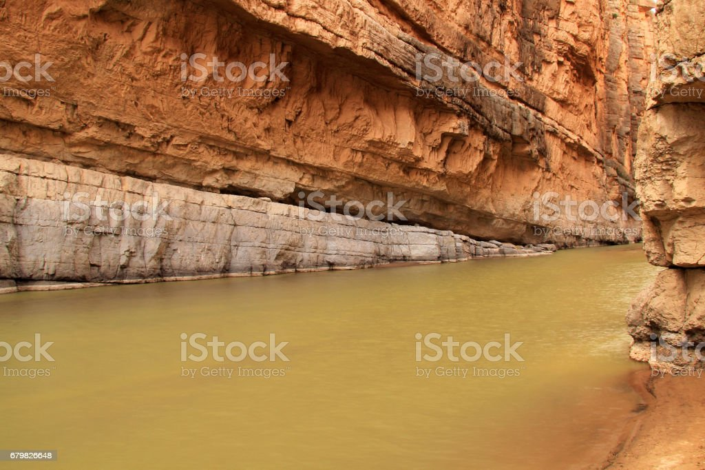 Santa Elena Canyon stock photo