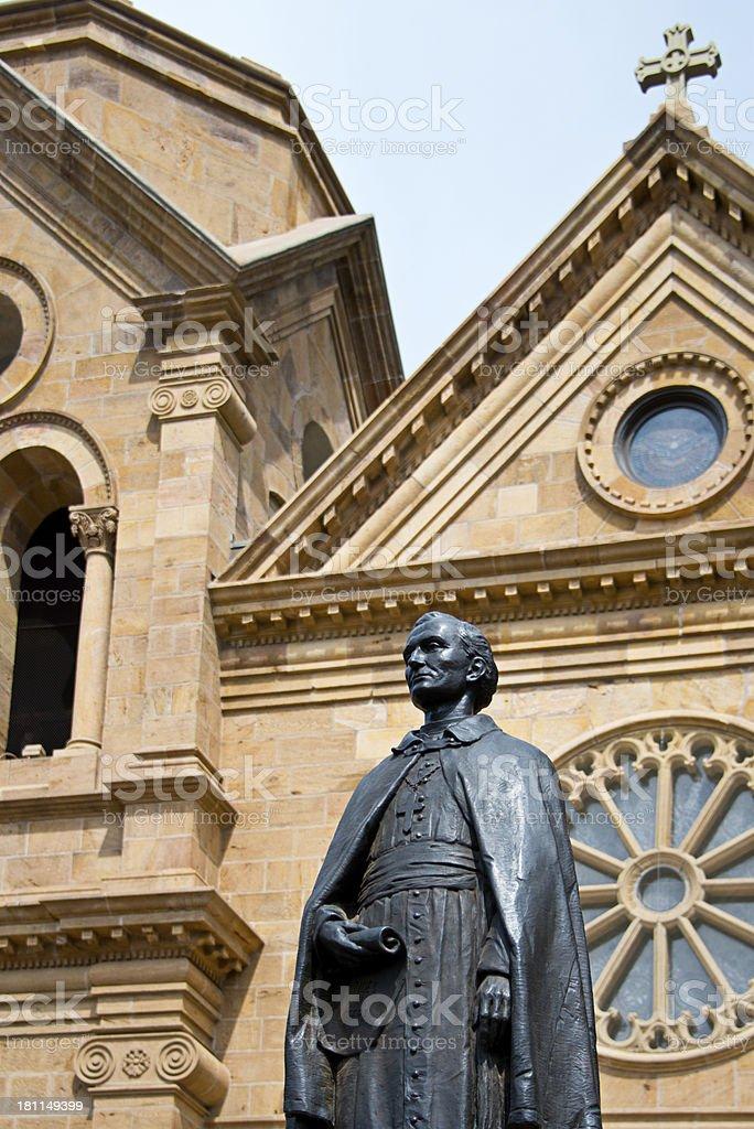Santa Fe, Cathedral Basilica Saint Francis of Assisi royalty-free stock photo