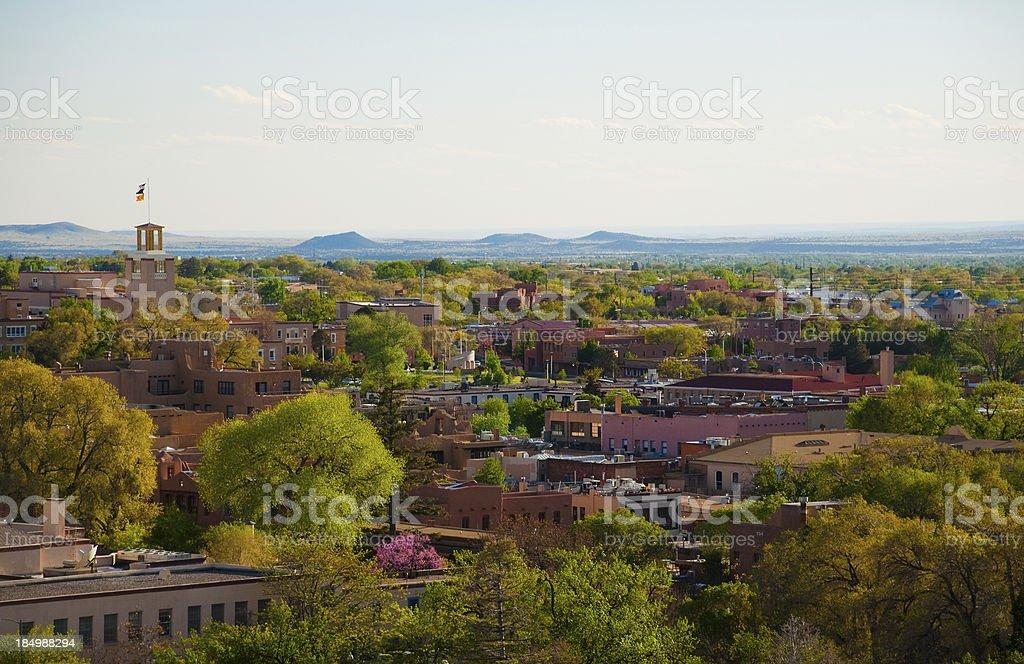 Santa Fe cityscape stock photo