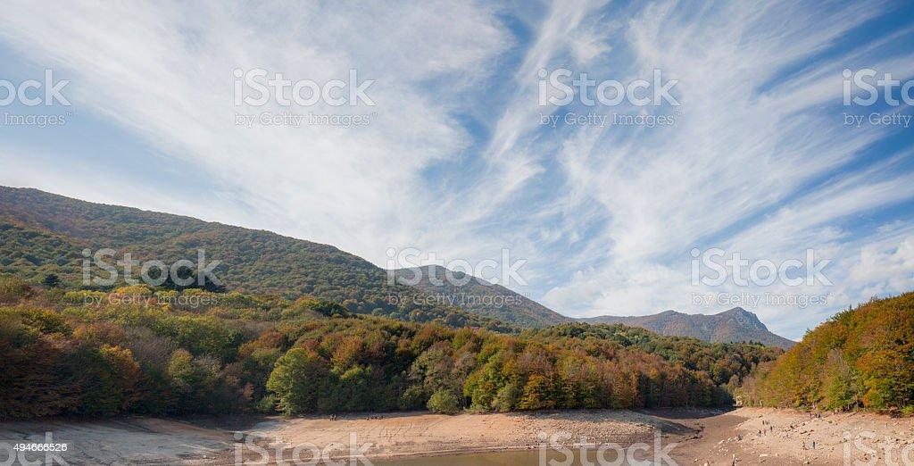 Santa Fe de Montseny - Barcelona - Spain stock photo