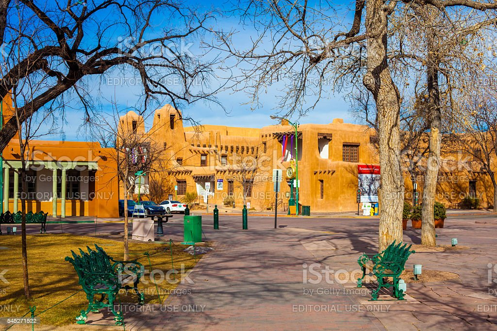 Santa Fe, New Mexico stock photo