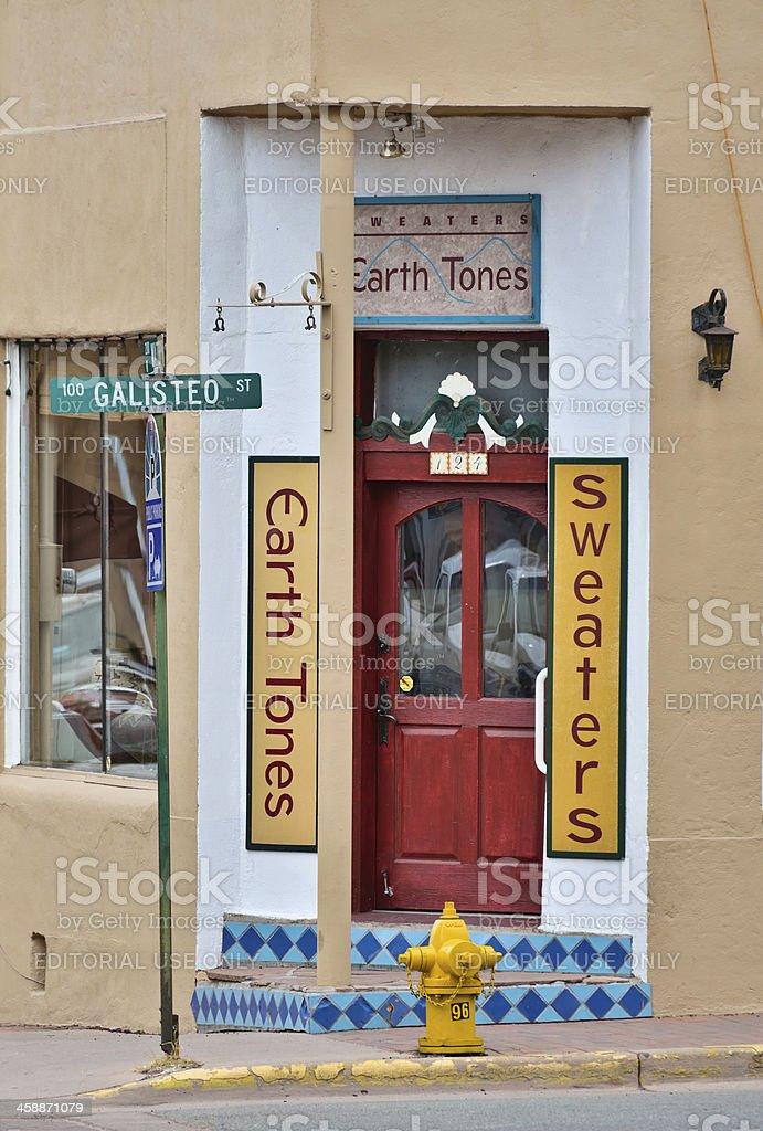 Santa Fe royalty-free stock photo