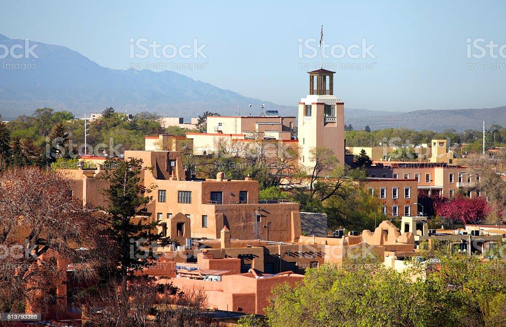 Santa Fe stock photo