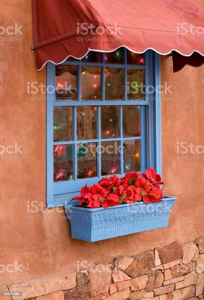 Santa Fe Shop at Christmas royalty-free stock photo