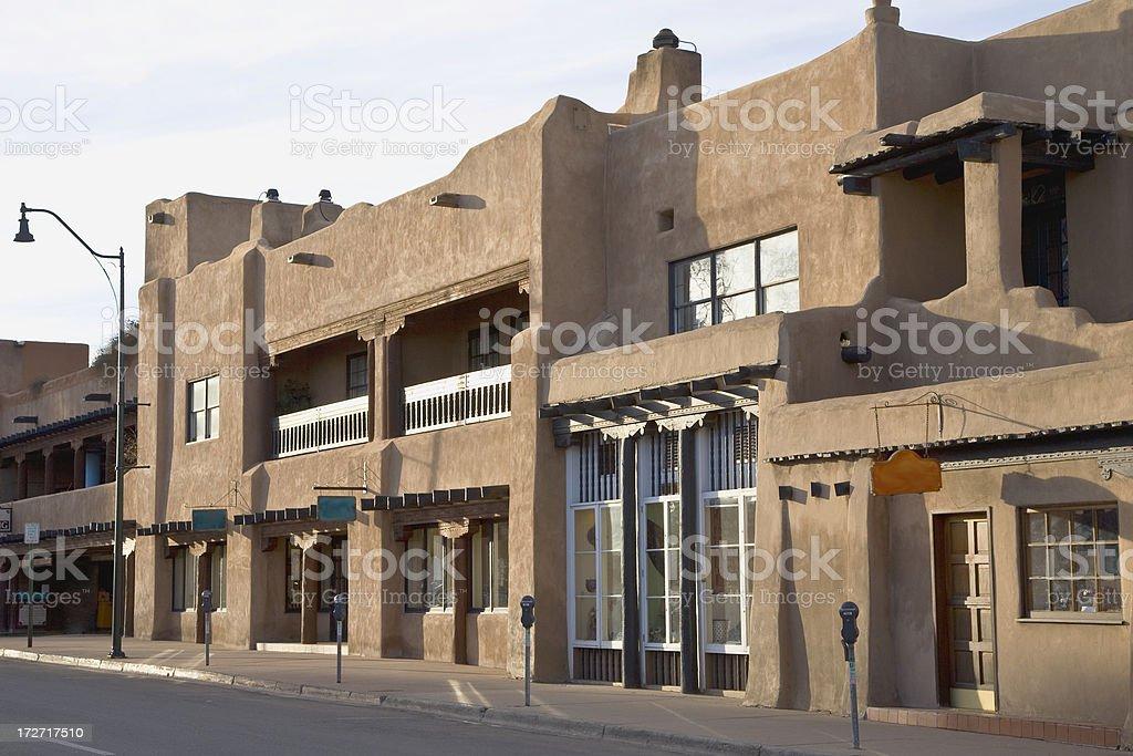 Santa Fe Street royalty-free stock photo