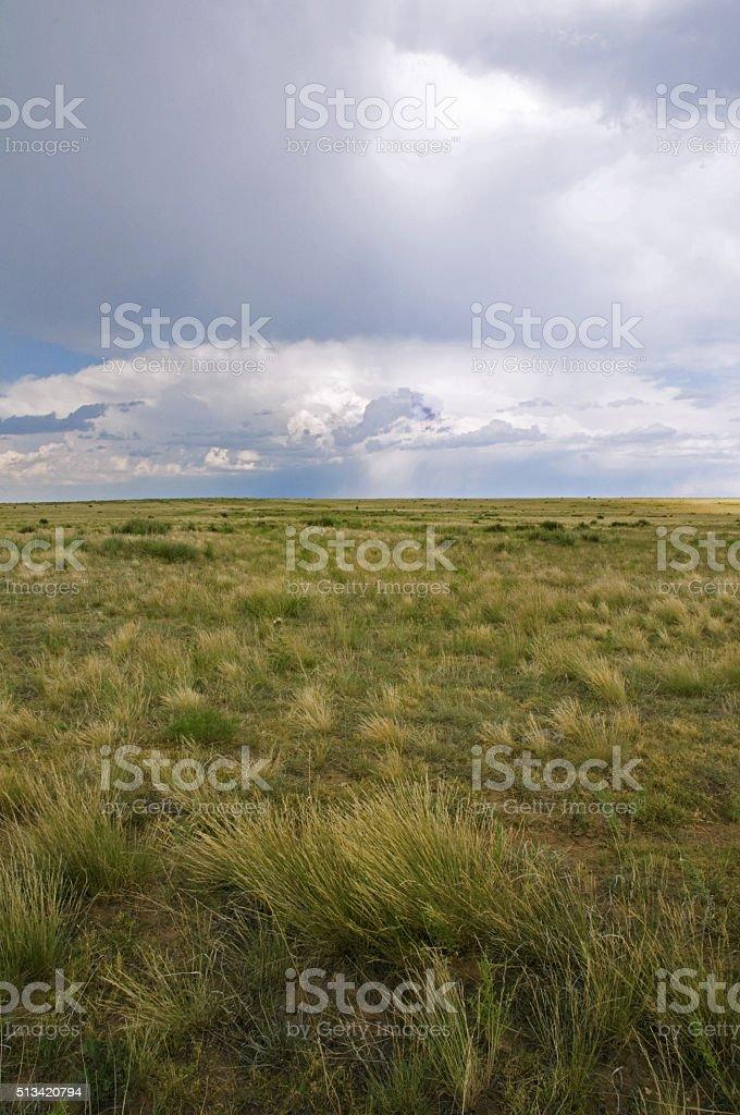 Santa Fe Trail, Northeastern New Mexico stock photo