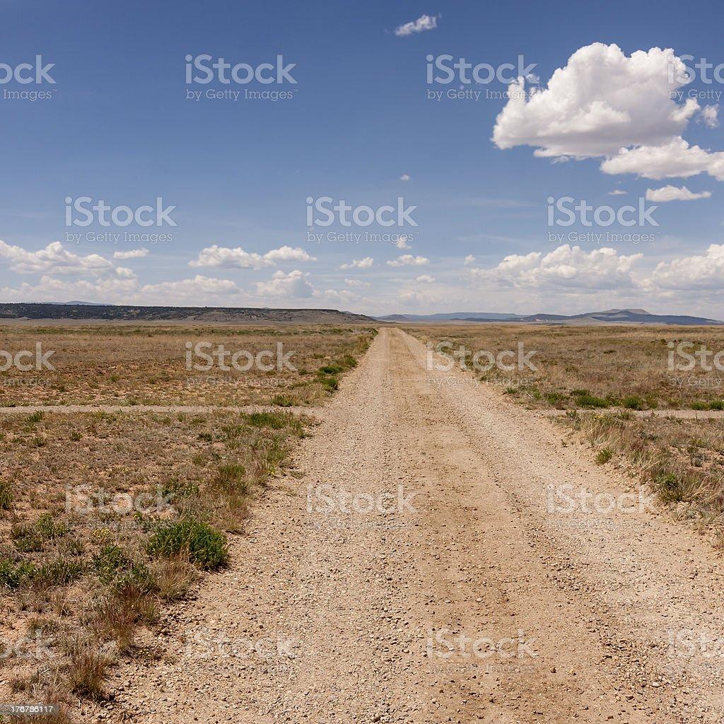 Santa Fe Trail stock photo