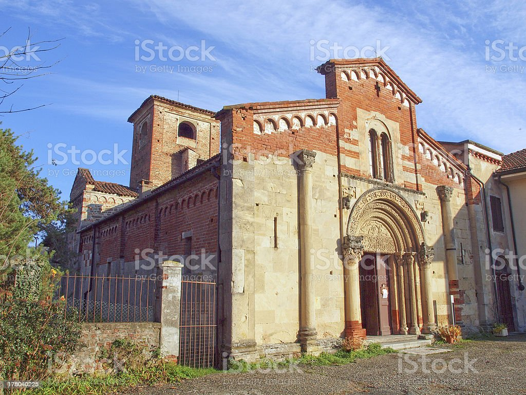 Santa Fede, Cavagnolo royalty-free stock photo