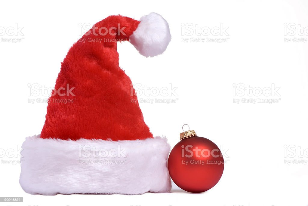 Santa hat 1 royalty-free stock photo