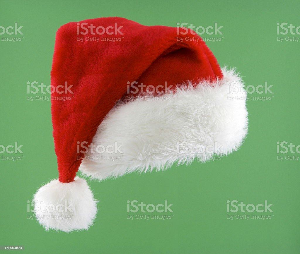 Santa Hat Isolated royalty-free stock photo