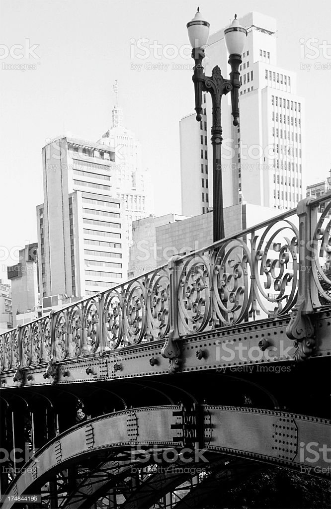 Santa Ifigenia Viaduct royalty-free stock photo
