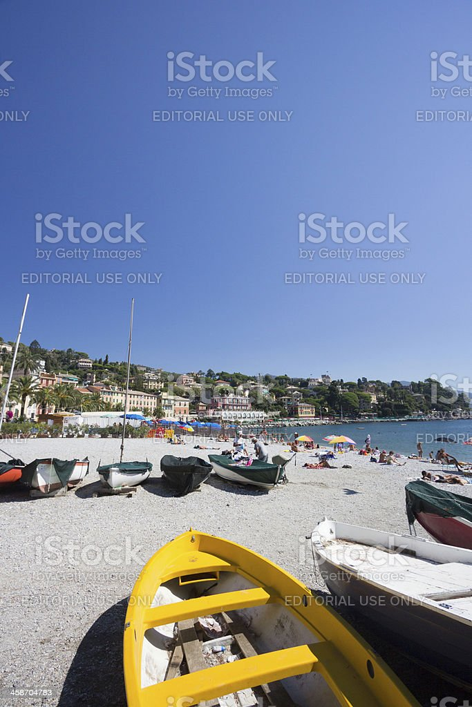 Santa Margherita Ligure in Liguria, Italy - Stock Image royalty-free stock photo