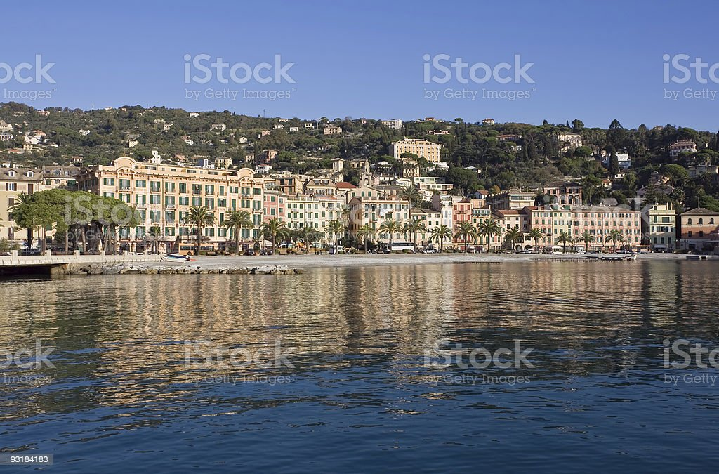 Santa Margherita Ligure stock photo