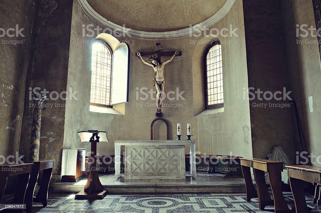 Santa Maria Aracoeli in Rome stock photo
