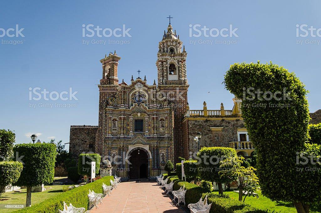 Santa Maria church stock photo