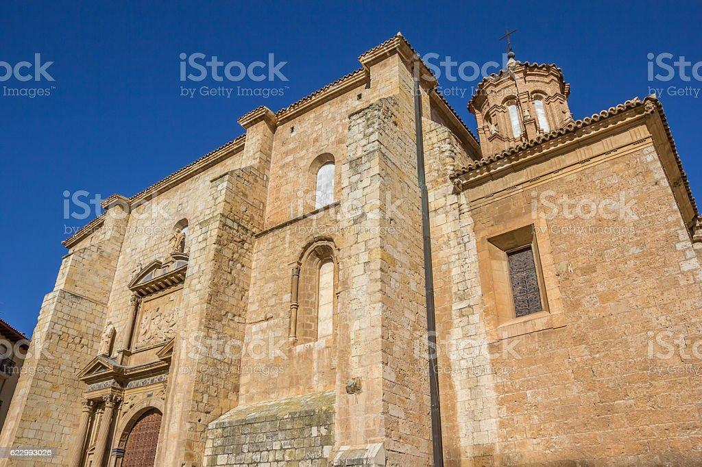 Santa Maria de los Sagrados Corporales church in Daroca stock photo