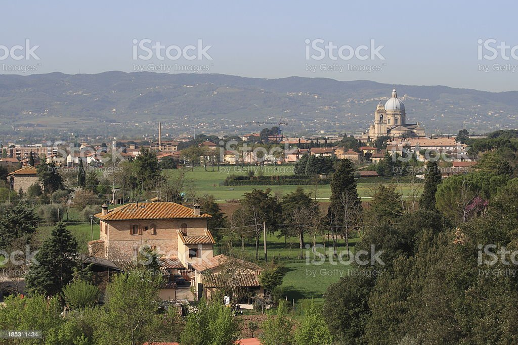 Santa Maria degli Angeli stock photo