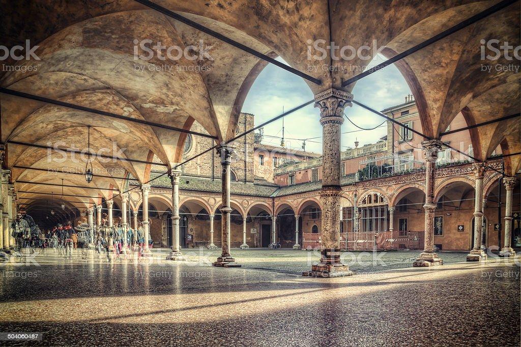 Santa Maria dei Servi, Bologna stock photo