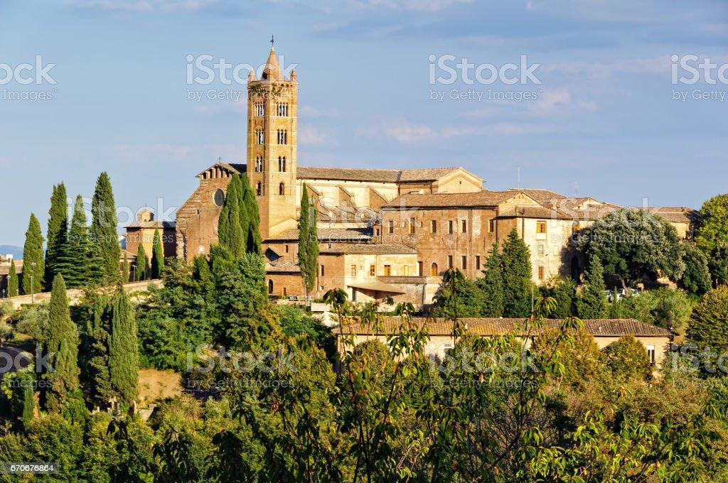 Santa Maria dei Servi - Siena stock photo