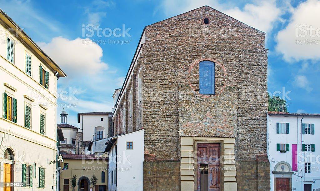 Santa Maria del Carmine stock photo