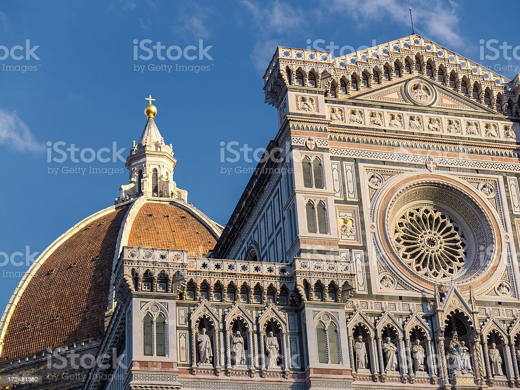 Santa Maria del Fiore  Cathedral of Florence, Italy stock photo