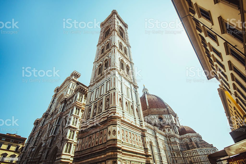 Santa Maria del Fiore, Florence. stock photo