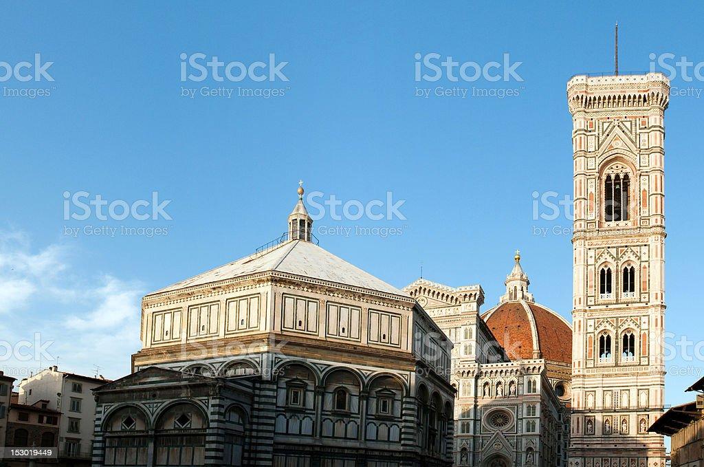 Santa Maria del Fiore (Duomo) in Florence royalty-free stock photo