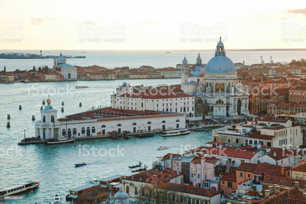 Basilica Di Santa Maria della Salute stock photo