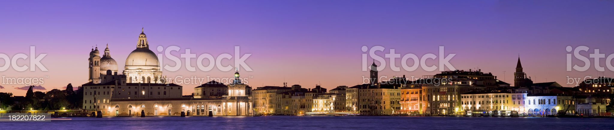 Santa Maria della Salute Church in Venice Italy royalty-free stock photo