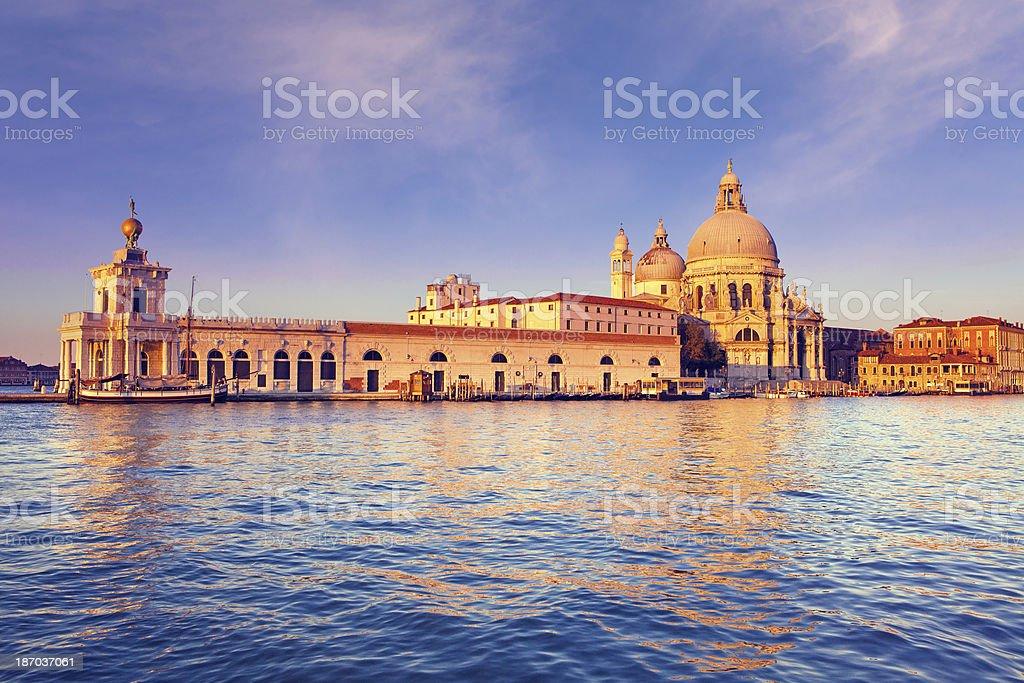 Santa Maria della Salute in Venice stock photo
