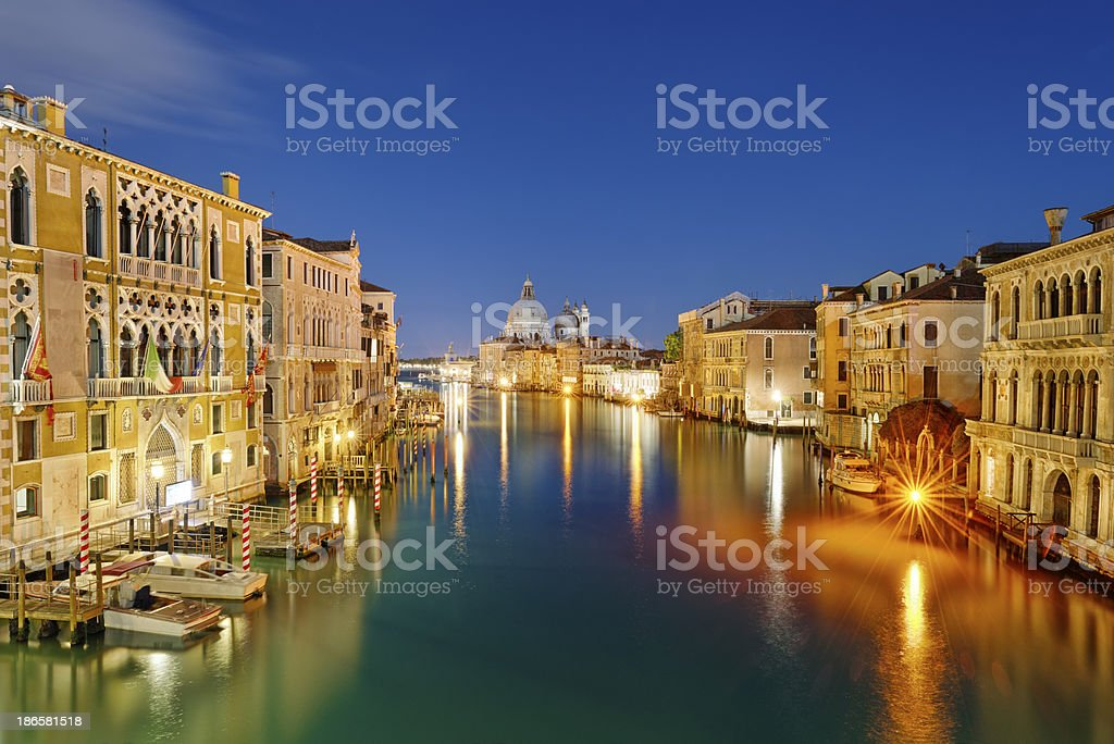 Santa Maria della Salute (Venezia) stock photo