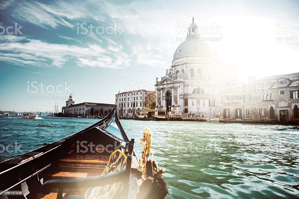 Santa Maria della Salute stock photo