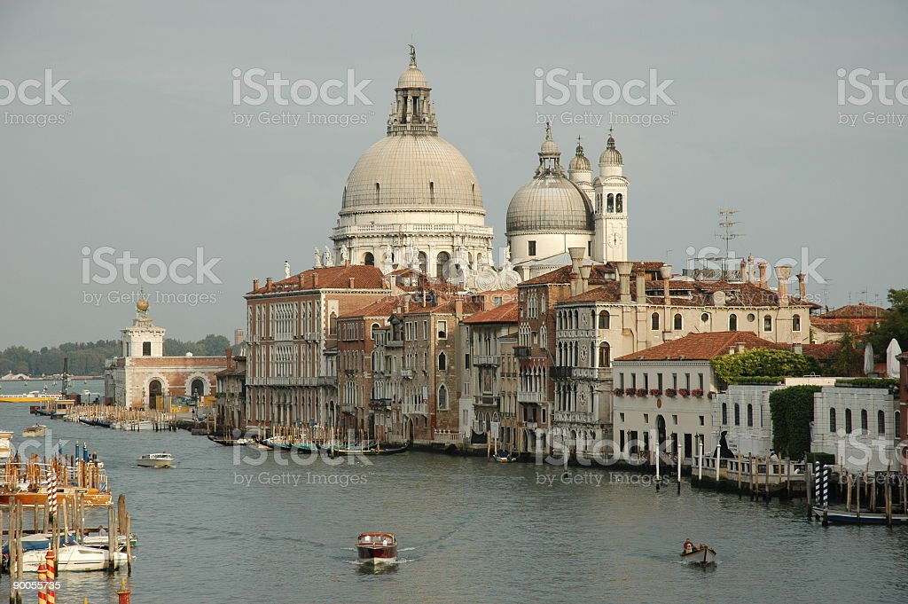 Santa Maria della Salute royalty-free stock photo