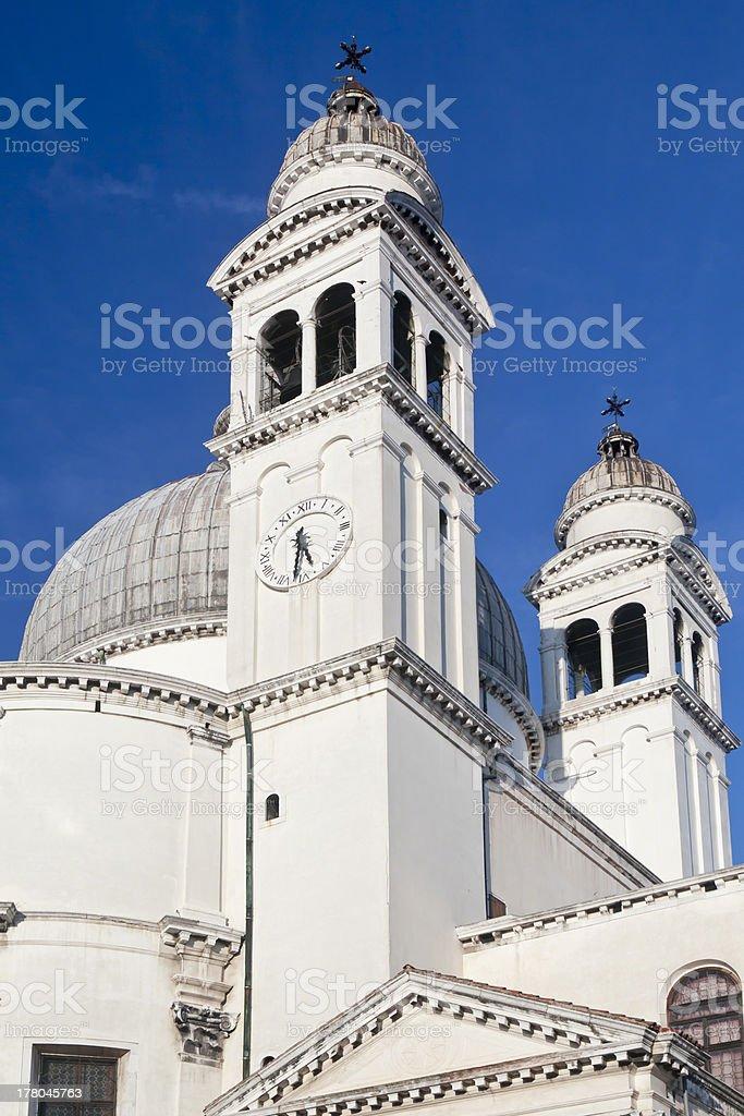 Santa Maria della Salute, Venice, Italy royalty-free stock photo