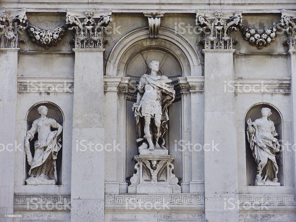 Santa Maria della Salute - Venice, Italy royalty-free stock photo