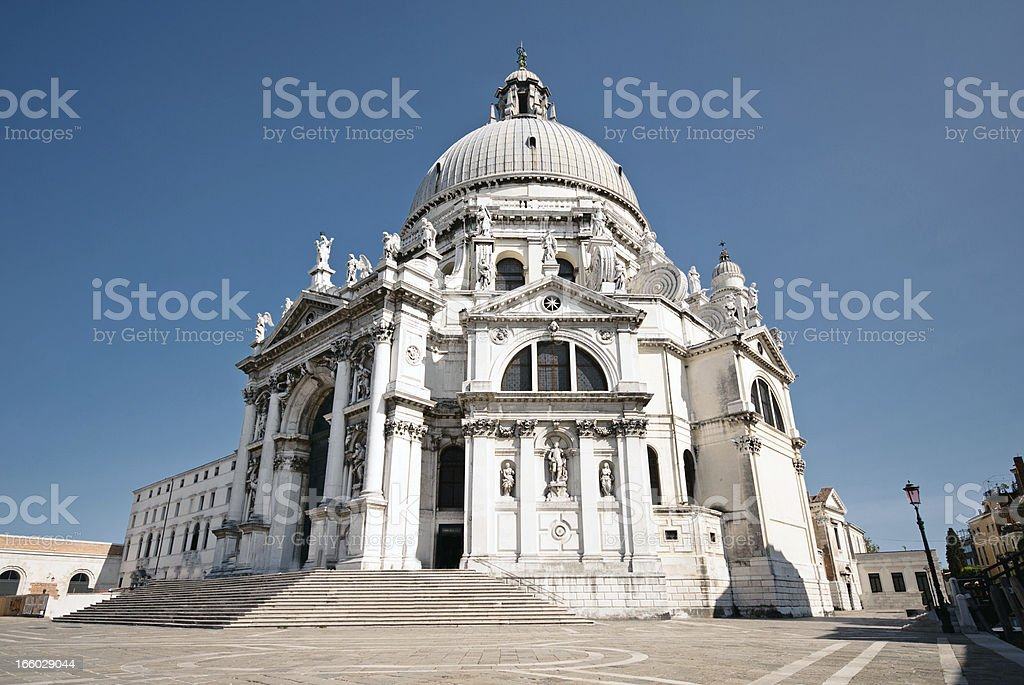 Santa Maria della Salute, Venice stock photo