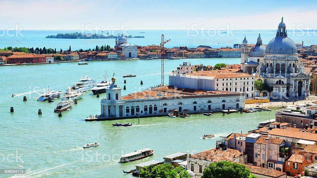 Santa Maria della Salute, Venice stock photo