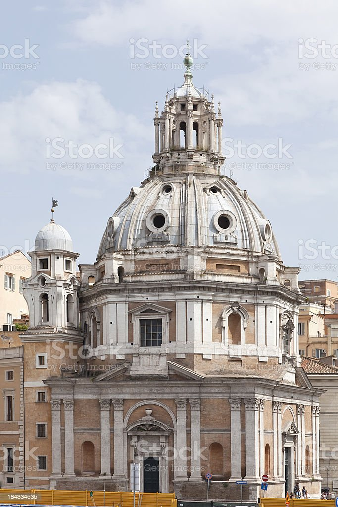 Santa Maria Di Loreto royalty-free stock photo