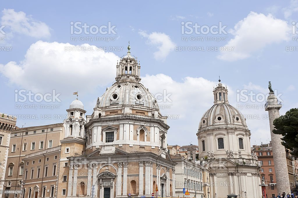 Santa Maria Di Loreto royalty-free stock photo