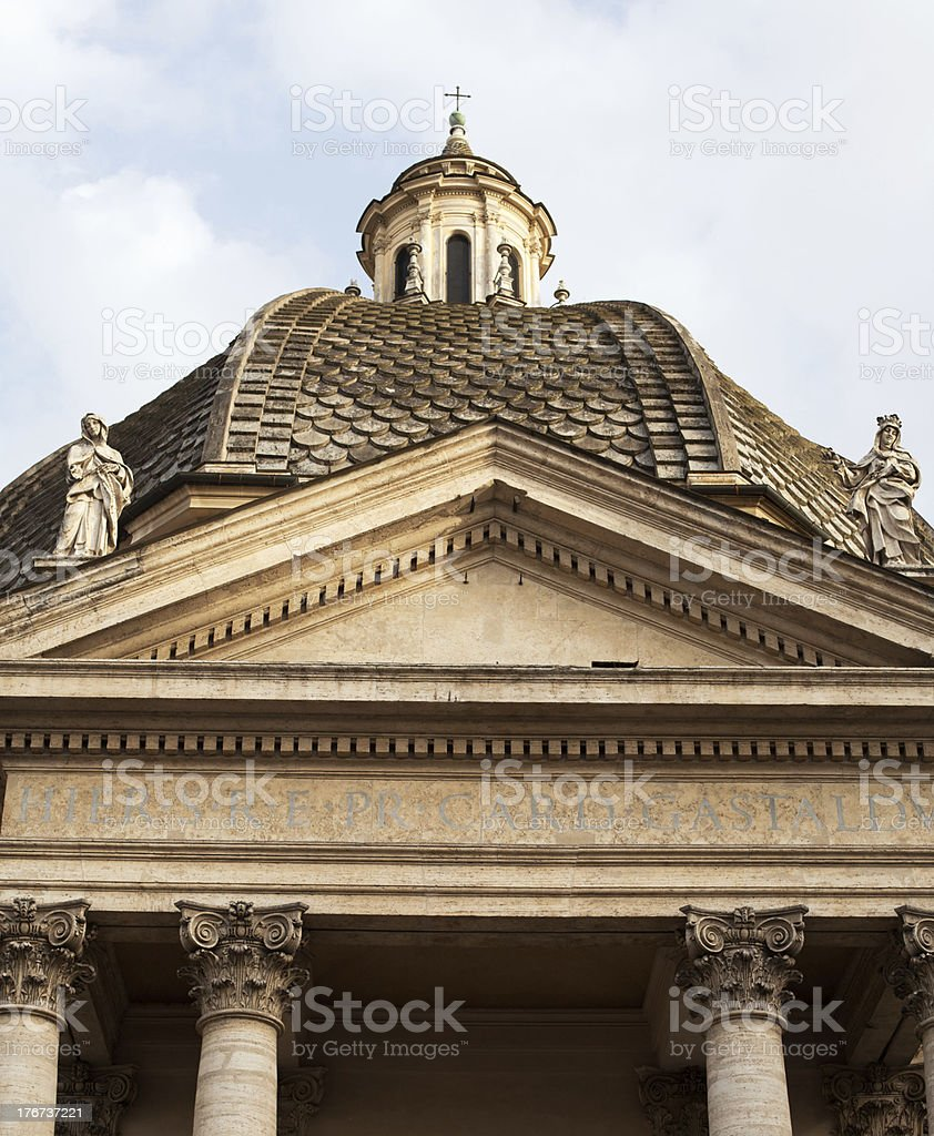 Santa Maria di Montesanto royalty-free stock photo
