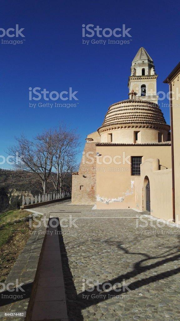 Santa Maria d'Orsoleo Church stock photo
